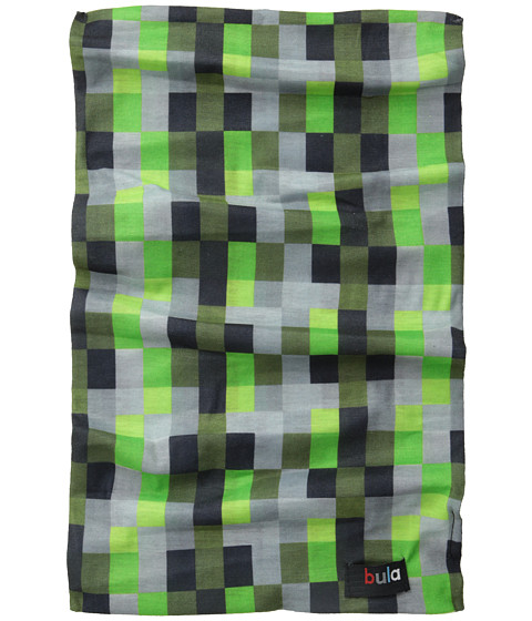 BULA - Tube (Big Kid) (Geometric Green) Scarves