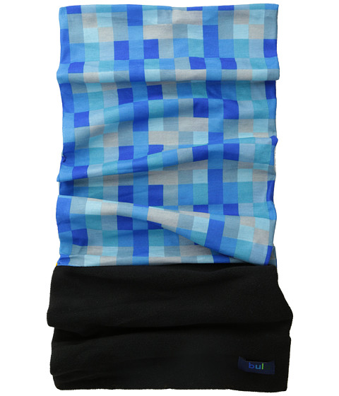 BULA - Rage Micro Comb (Big Kid) (Geometric Blue) Scarves