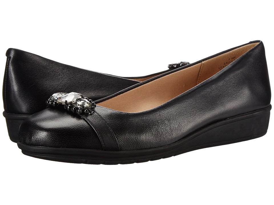 Easy Spirit - Jolana (Black Leather) Women
