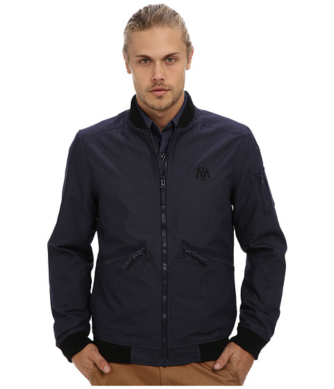 Mavi Jeans - Jacket w/ Zipper (Navy) Men