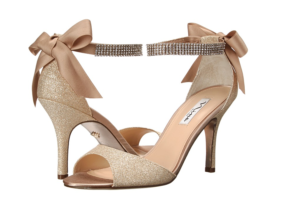 Nina - Vinnie (Champagne/Royal Gold) High Heels