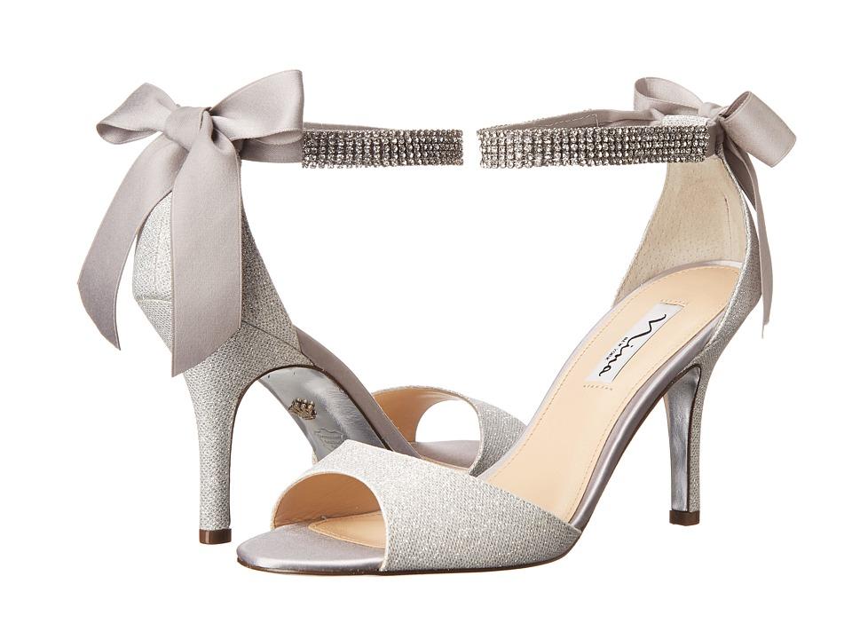 Nina - Vinnie (Silver/Silver) High Heels