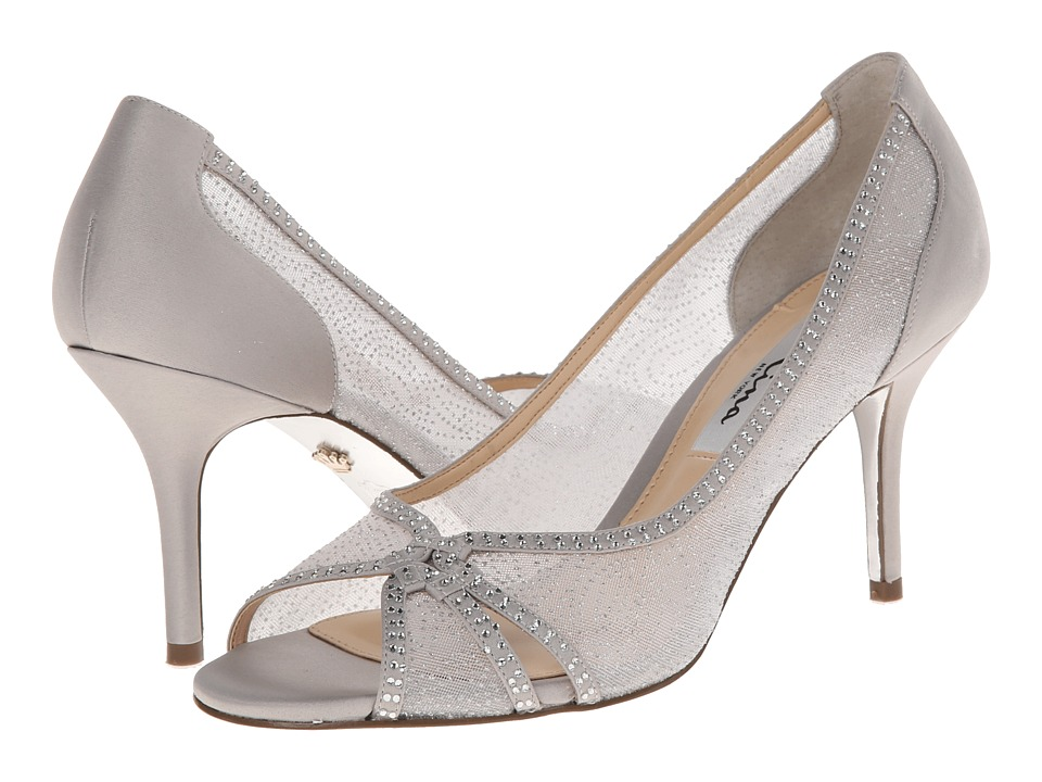 Nina Fresh (Silver/Silver) High Heels