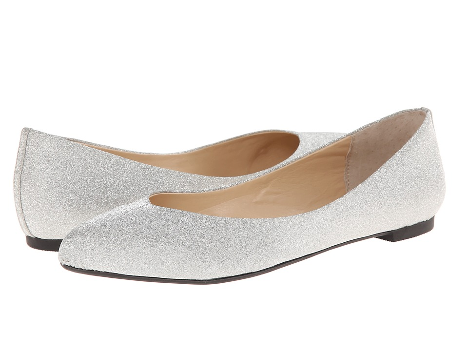 Nina - Lorina (Silver) Women's Flat Shoes