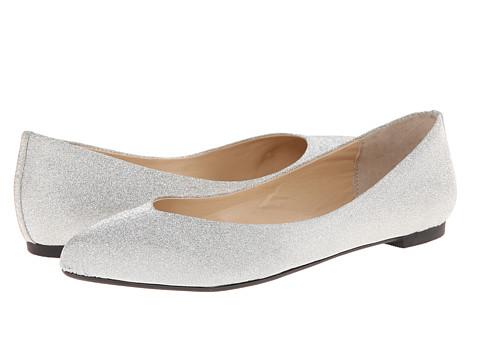 Nina - Lorina (Silver) Women's Flat Shoes