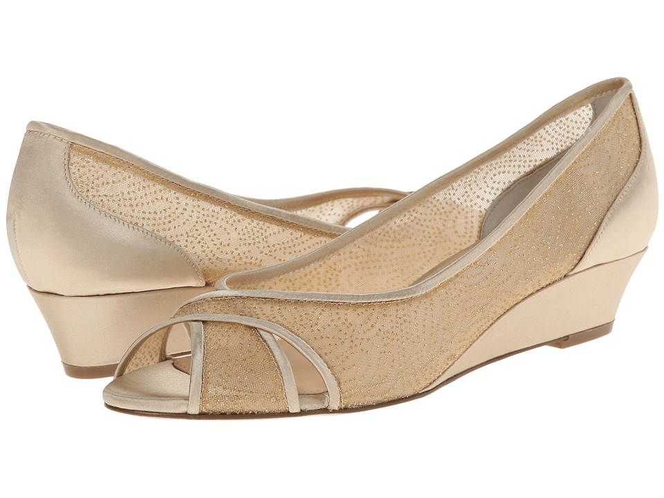 Nina - Rigby (Champagne/Platino) Women's Wedge Shoes