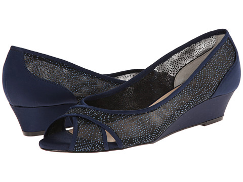 Nina - Rigby (New Navy/Navy) Women's Wedge Shoes