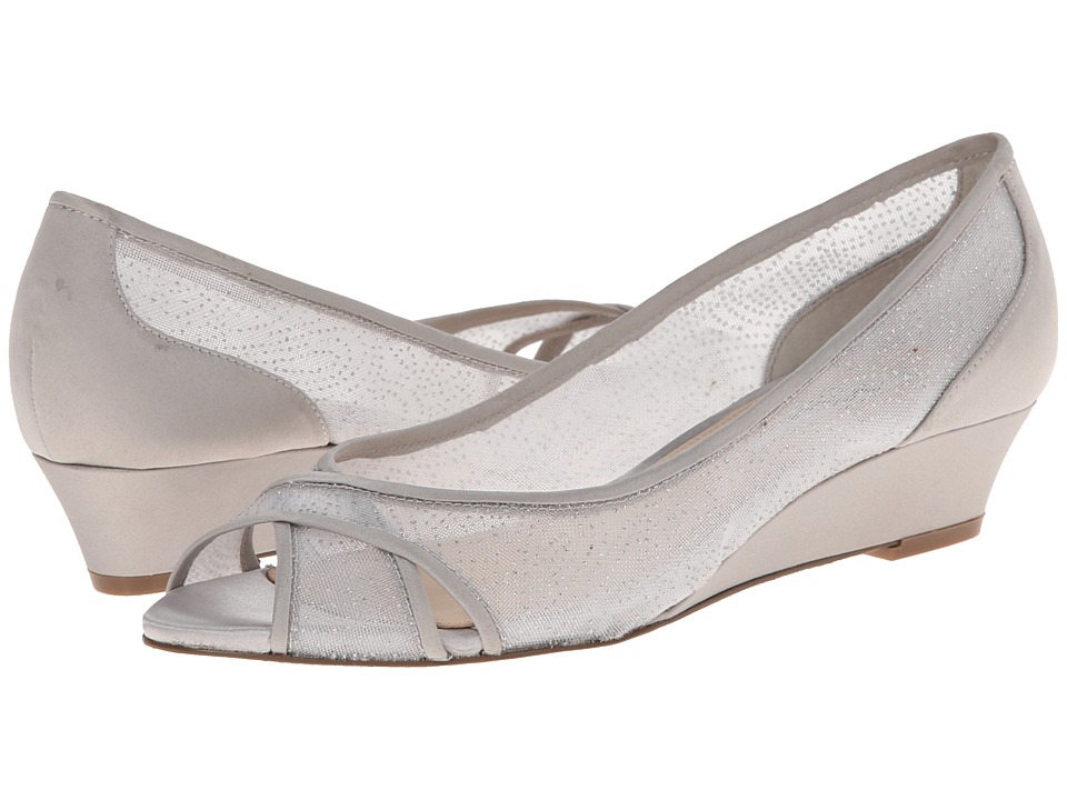 Nina - Rigby (Silver/Silver) Women's Wedge Shoes