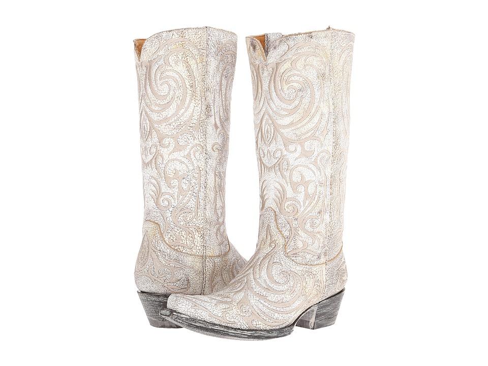Old Gringo - Madona (Milk) Cowboy Boots