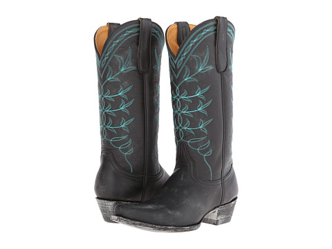 Old Gringo - Polo (Black/Turquoise) Cowboy Boots