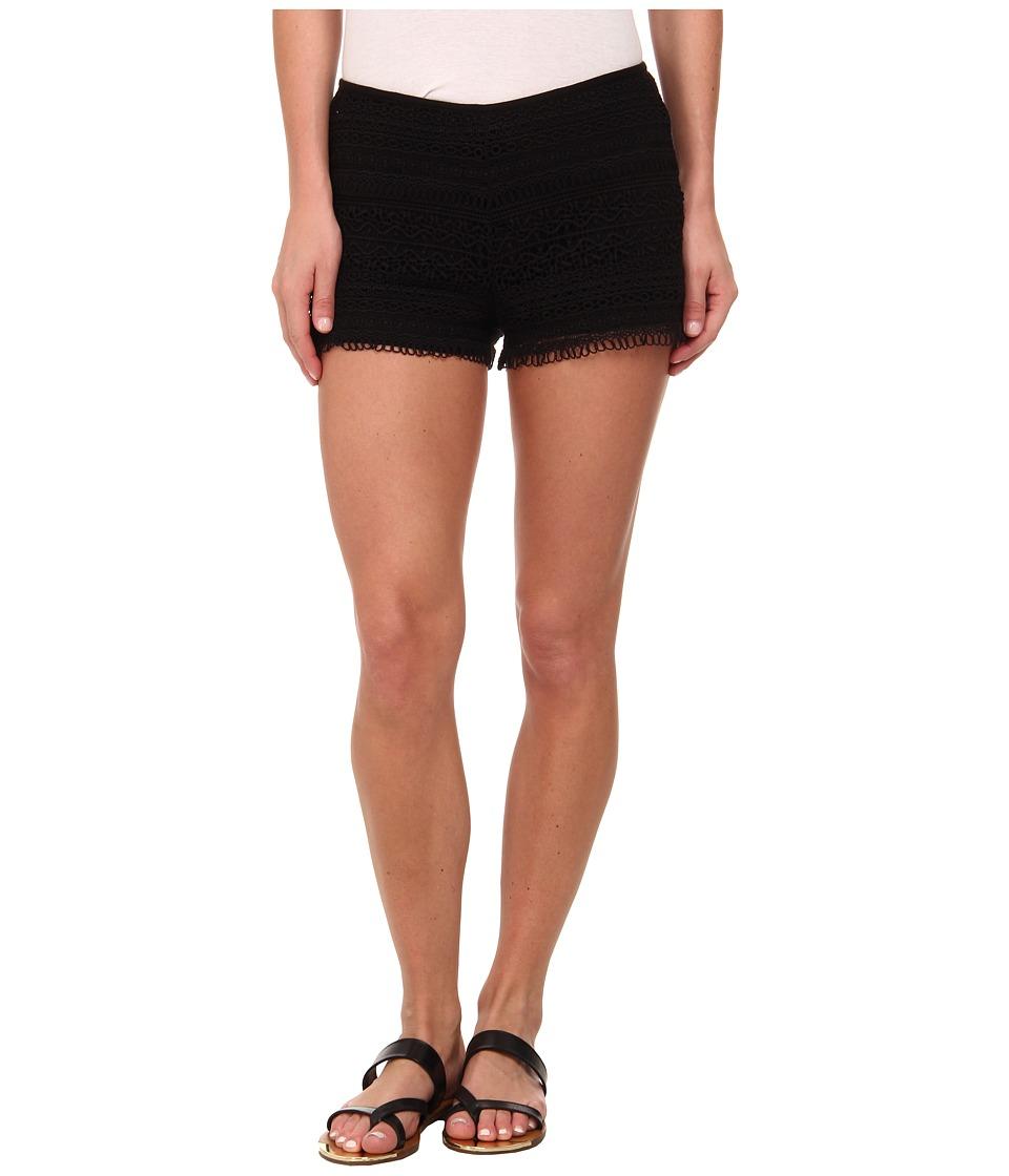 BB Dakota - Holland Shorts (Black) Women's Shorts