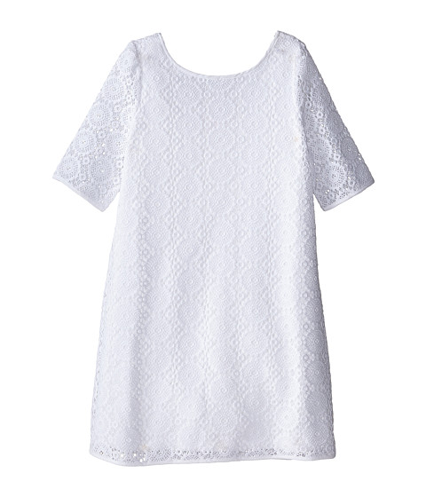 Lilly Pulitzer Kids - Little Topanga Dress (Toddler/Little Kids/Big Kids) (Resort White Breakers Lace) Girl