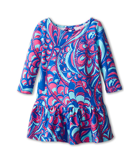 Lilly Pulitzer Kids - Morgana Dress (Toddler/Little Kids/Big Kids) (Brewster Blue Reel Me In) Girl's Dress
