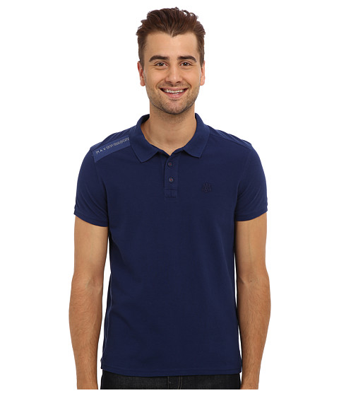 Mavi Jeans - Polo T-Shirt (Indigo) Men's Short Sleeve Pullover