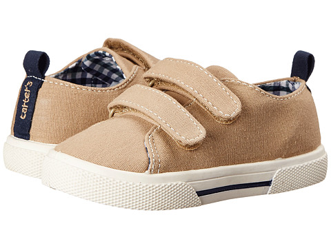 Carters - Skid (Toddler/Little Kid) (Khaki 1) Boy's Shoes