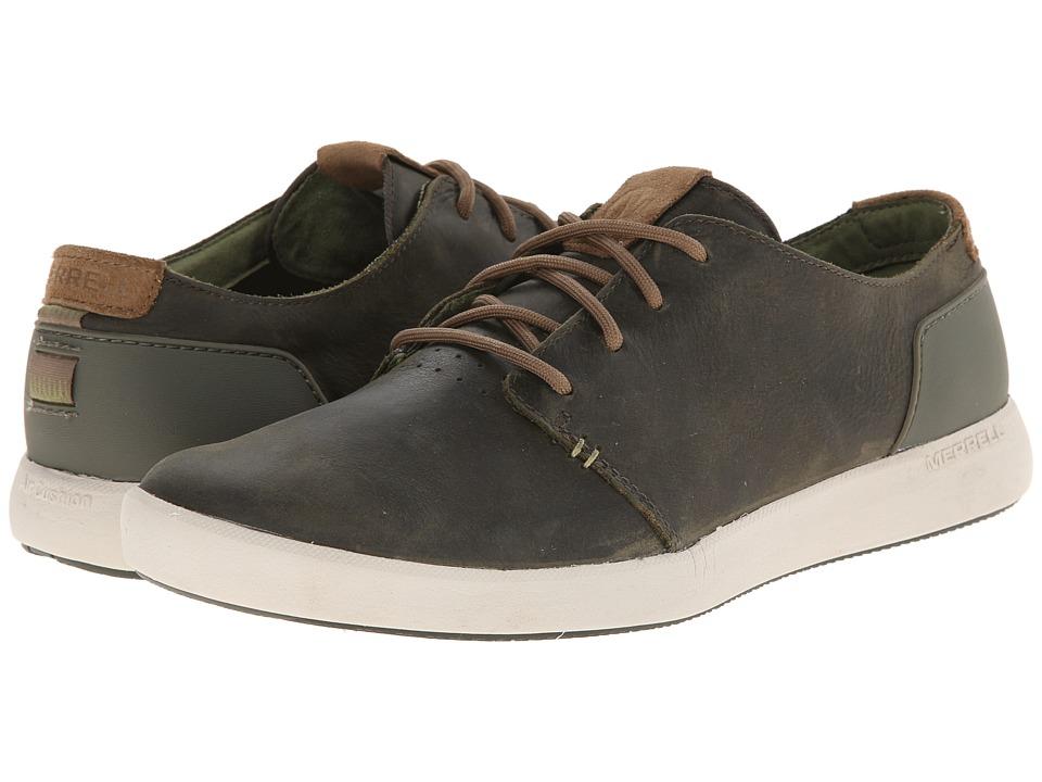 Merrell - Freewheel Lace (Dark Olive) Men's Shoes