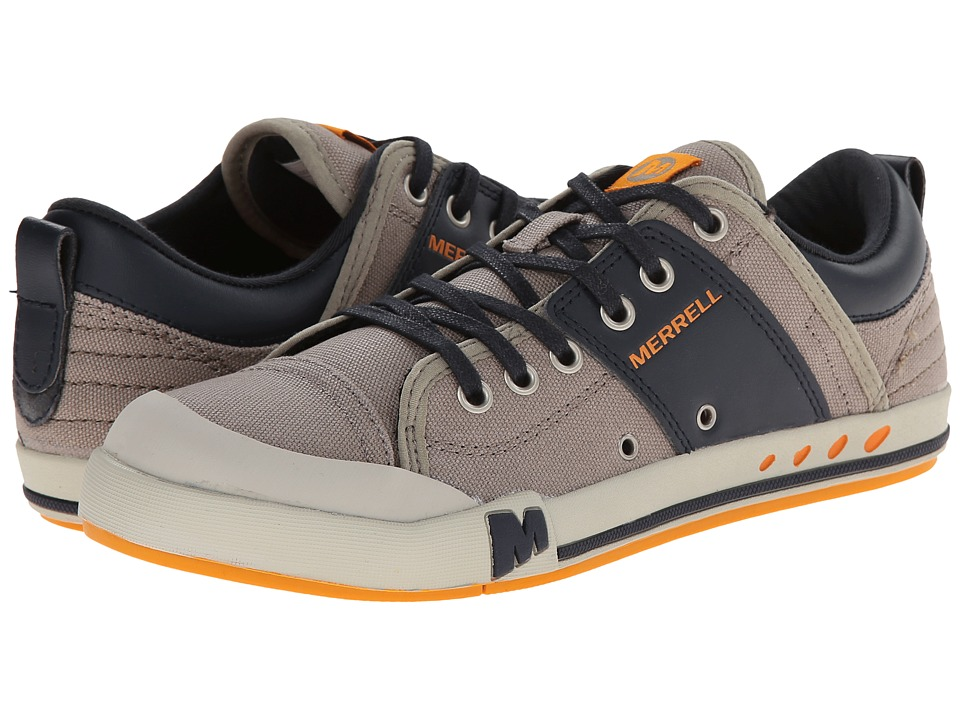 Merrell - Rant (Aluminum/Navy) Men's Lace up casual Shoes