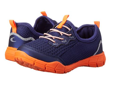 Carters - Fantasy-C (Toddler/Little Kid) (Navy/Orange) Boy's Shoes