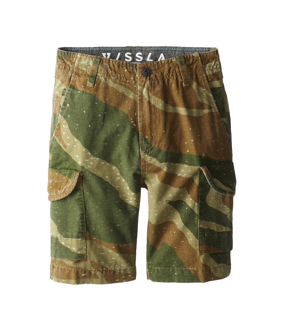 VISSLA Kids - Gunner Walkshort (Big Kids) (Tobacco) Boy's Shorts