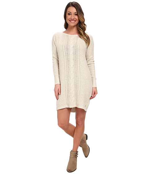 Roxy - Shifting Seas Knit Dress (Metro Heather) Women
