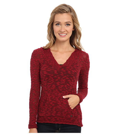 Roxy - Warm Heart Sweater (Biking Red Warm Heart Marl Pattern) Women