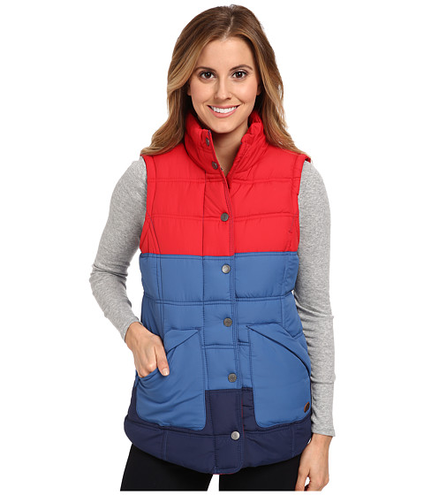 Roxy - Deep Water Vest Jacket (Federal Blue) Women's Vest