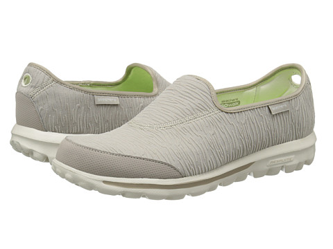 SKECHERS Performance - Go Walk - Upstage (Natural) Women's Flat Shoes