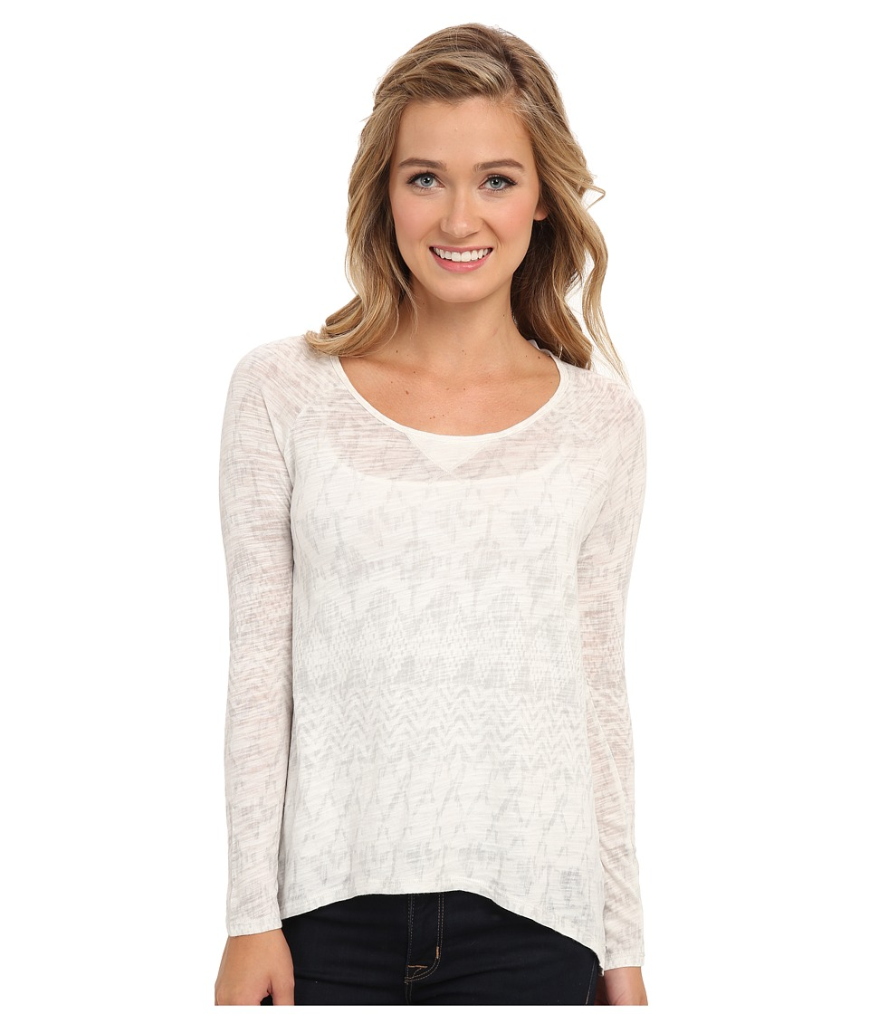 Roxy - V L/S Knit Top (Bengal Sea Spray Stripe) Women