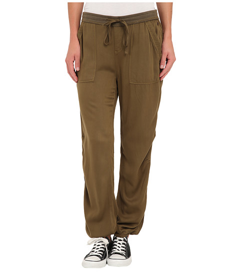 Roxy - Holly Pant (Military Olive) Women's Casual Pants