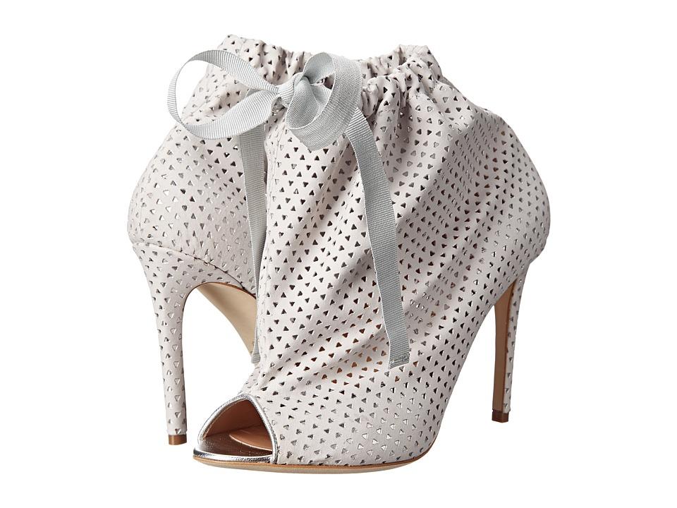 Vivienne Westwood Open Toe Bootie (White/Silver) Women