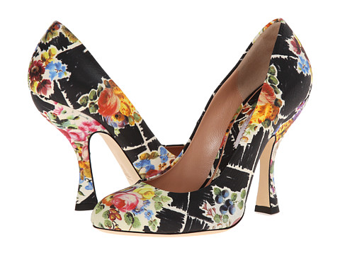 Vivienne Westwood - Almond Toe Court (Multi) High Heels
