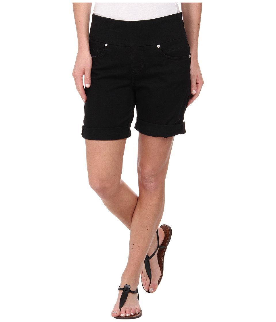 Jag Jeans - Jordan Pull-On Relaxed Fit Short in Heritage Twill (Black) Women
