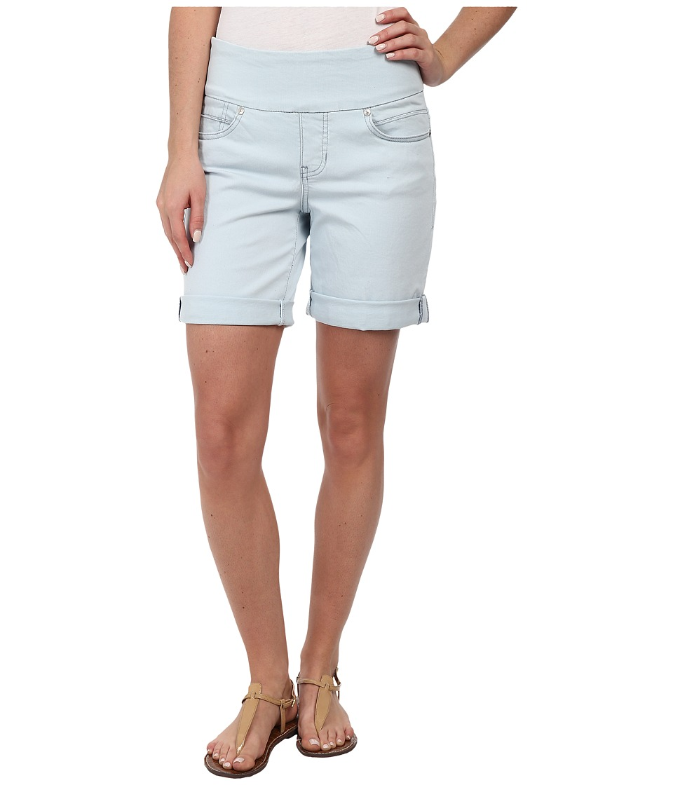 Jag Jeans - Jordan Pull-On Relaxed Fit Short in Heritage Twill (Pale Blue) Women