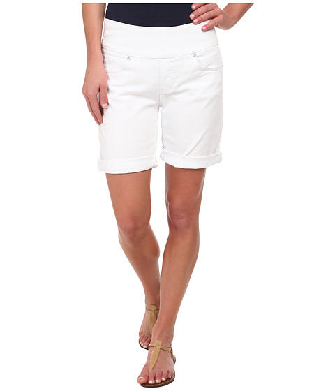 Jag Jeans - Jordan Pull-On Relaxed Fit Short in Heritage Twill (White) Women