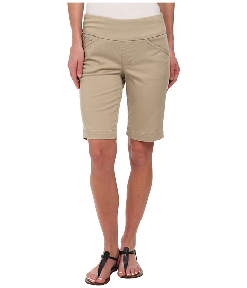 Jag Jeans - Ainsley Bermuda Classic Fit Bay Twill (British Khaki) Women