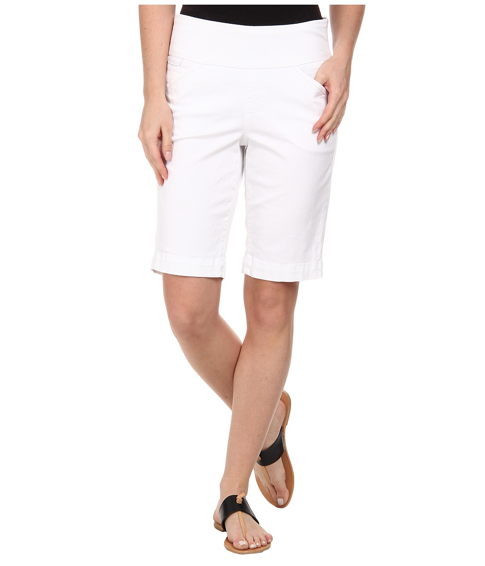 Jag Jeans - Ainsley Bermuda Classic Fit Bay Twill (White) Women's Shorts