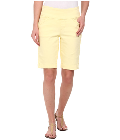 Jag Jeans - Ainsley Bermuda Classic Fit Colored Denim (Lemoncello) Women