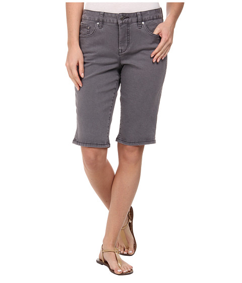 Jag Jeans - Willa Classic Fit Bermuda in Heritage Twill (Flint) Women