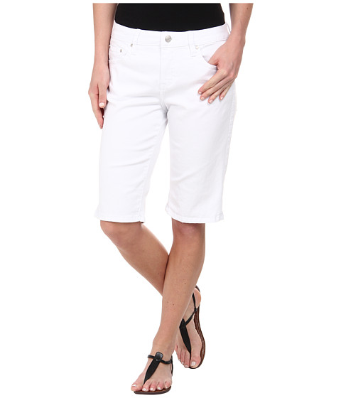 Jag Jeans - Willa Classic Fit Bermuda in Heritage Twill (White) Women
