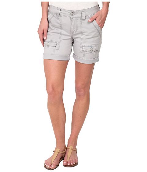 Jag Jeans - Elsa Relaxed Fit Short in Bay Twill (Grey Morn) Women's Shorts