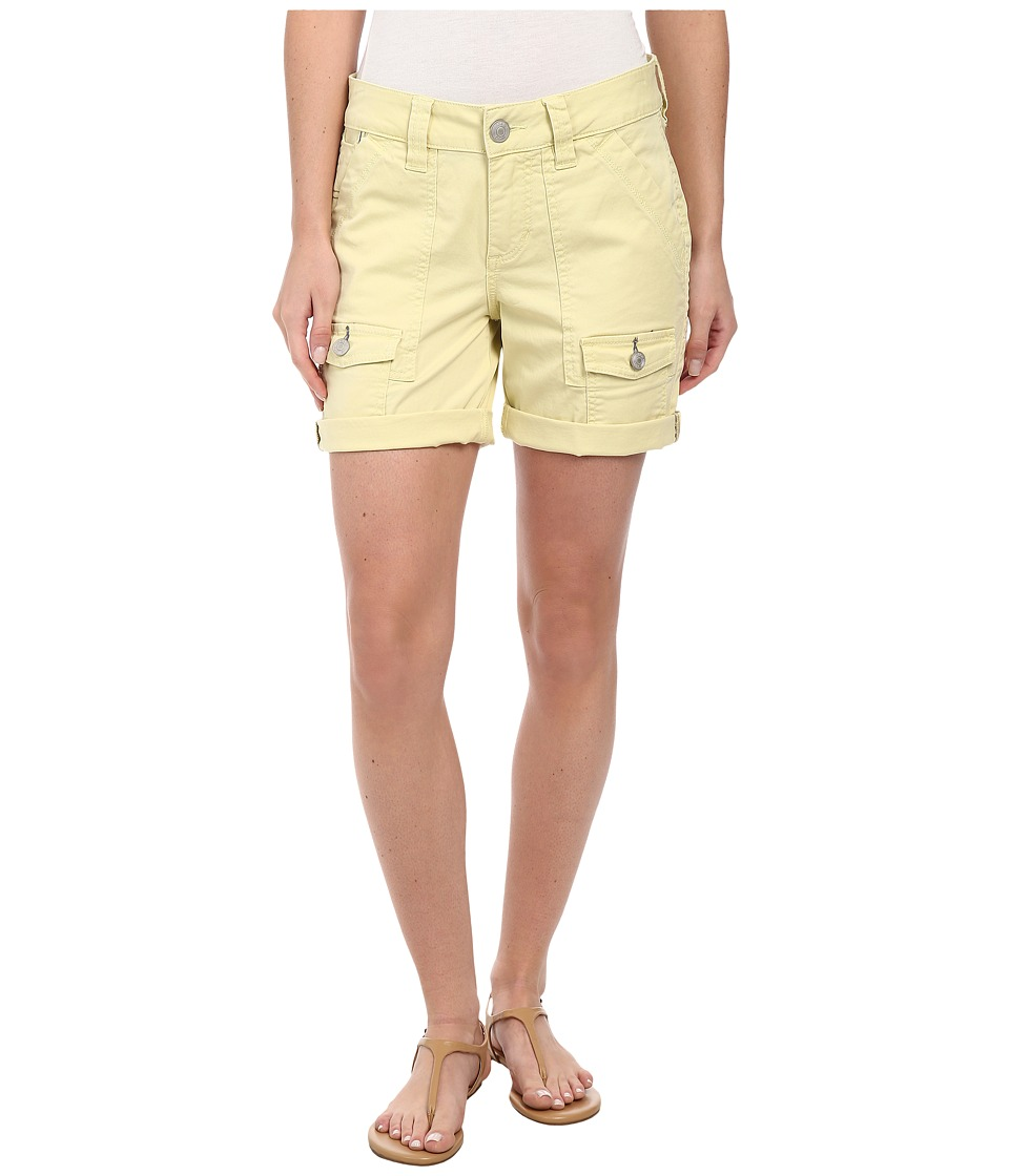 Jag Jeans - Elsa Relaxed Fit Short in Bay Twill (Lemon Twist) Women's Shorts