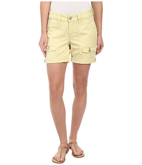 Jag Jeans - Elsa Relaxed Fit Short in Bay Twill (Lemon Twist) Women's Shorts
