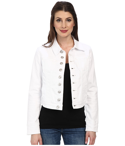 Jag Jeans - Savannah Denim Fitted Jacket in White Denim (White) Women