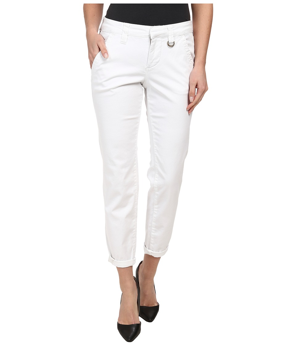Jag Jeans - Dana Tapered Boyfriend Chino Pant in Bay Twill (White) Women's Casual Pants