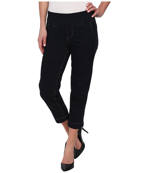 Jag Jeans - Hope Pull-On Slim Fit Crop Denim in After Midnight (After Midnight) Women