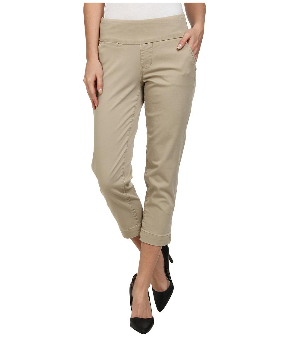 Jag Jeans - Hope Bay Twill Slim Fit Crop (British Khaki) Women's Casual Pants