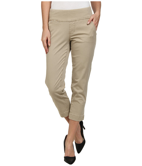 Jag Jeans - Hope Bay Twill Slim Fit Crop (British Khaki) Women's Casual Pants
