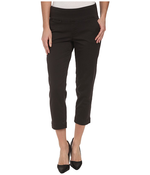 Jag Jeans - Hope Bay Twill Slim Fit Crop (Cinder) Women's Casual Pants