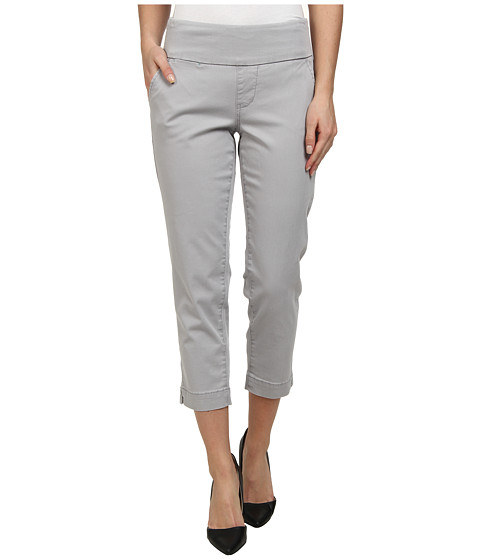 Jag Jeans - Hope Bay Twill Slim Fit Crop (Grey Morn) Women's Casual Pants