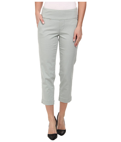 Jag Jeans - Hope Bay Twill Slim Fit Crop (Sea Glass) Women's Casual Pants